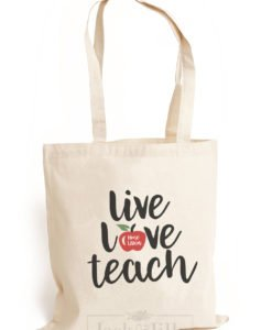 personalized teacher tote bag makes the perfect gift