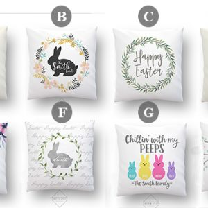 Easter PIllow Choices