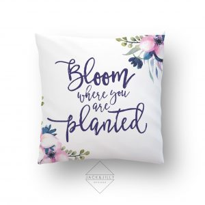 Bloom where you are planted Easter Pillo 2