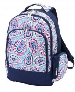 personalized backpack ontario