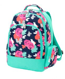 Personalized Floral Backpack Canada