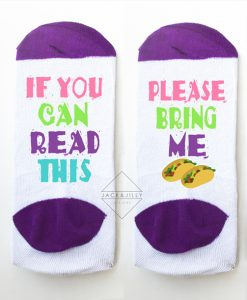 taco socks for taco lover makes the perfect gift