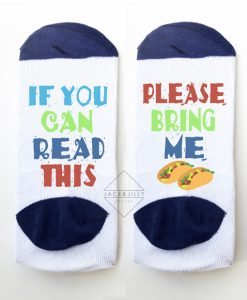 perfect socks for taco tuesday and taco lovers