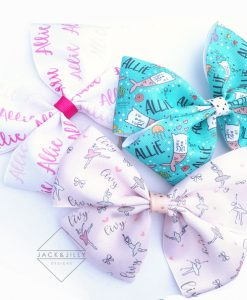 personalized cheer bows canada