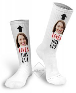valentine's day photo socks canada