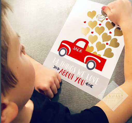 valentine's day gift for kids - scratch off - canada