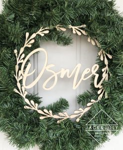 personalized wreath hanger canada