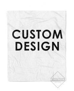 custom blanket personalized canada