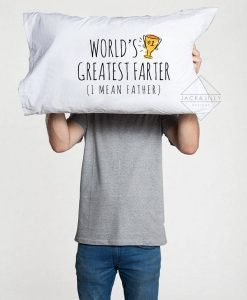 world's greatest farter father pillowcase
