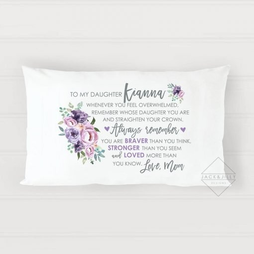 gift for daughter - daughter pillow - canada