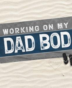 dad bod towel