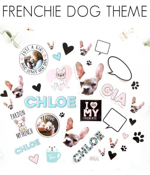 frenchie stickers french bulldog vsco canada