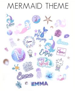 mermaid stickers canada