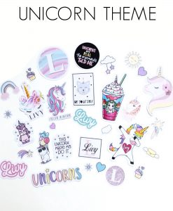 unicorn stickers canada personalized
