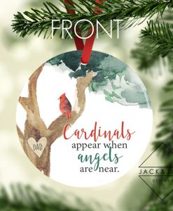 cardinal christmas ornament canada