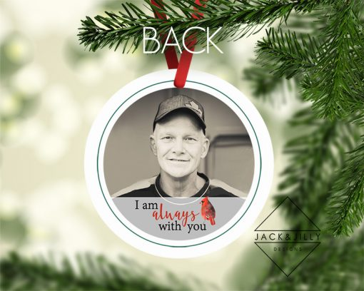in memory of christmas ornament canada
