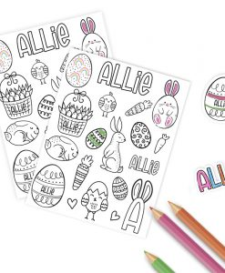 colour your own stickers canada