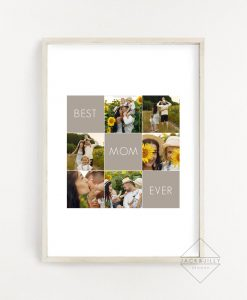 Best Mom Ever Print Mother's Day Gift