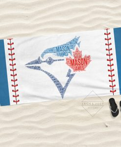 blue jays towel blue jays fan